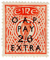 (I.B) Ireland Revenue : Old Age Pensions 2/6d