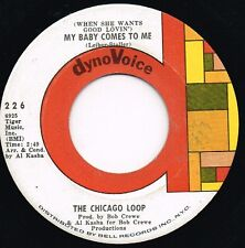 CHICAGO LOOP she comes to me/this must be the place U.S. DYNO VOICE 45rpm_GARAGE