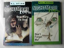 2 x The Nightmare Room Bücher auf ENGLISCH - R.L. Stine - Don´t forget me