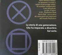 IL GRANDE LIBRO DELLA PLAYSTATION PS 1,ENCICLOPEDIA GUIDA RETRO STORIA GIOCHI,CD