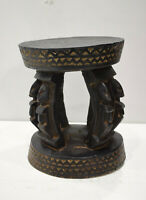 African Dogon Wood Carved Figured Legs Mali Dogon Tribe Africa
