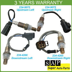4X Upstream Downstream Oxygen Sensor For Land Rover LR3 05-06 Range Rover Sport