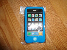 iPhone 3G 3GS  Silicone Rubber Case Cover. LIGHT BLUE