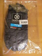 Isotoner Signature Men's Quilted Gloves Smartouch Sleek Heat Charcoal S/M $55