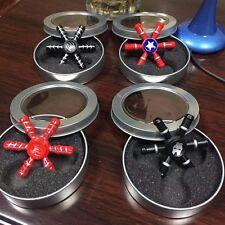 Capitan America Fidget Hand Spinner EDC ADHD Autism Tri Focus Avengers Toys kids