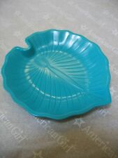 "American Girl 18"" Doll Green LEAF SHAPE PLATE from BEACH PICNIC SET LEA NEW"