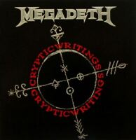 MEGADETH cryptic writings (CD album) speed metal, hard rock, thrash