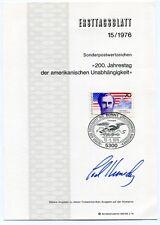 """Edward """"ted"""" Kennedy-Orig. autographe, enveloppe, 1976"""