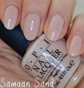 OPI Nail Lacquer Nude Color P61 Samoan Sand 0.5oz (Regular / Long Wear Lacquer)