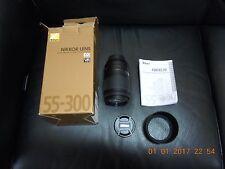 Mint Nikon Nikkor AF-S 55-300mm F/4.5-5.6 VR DX G ED Lens