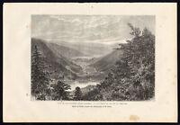 Antique Print-FRANCE-COL DE LA SCHLUCHT-RETOURNEMER-LONGEMER-Reclus-Barbant-1881