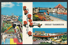 Norfolk Postcard - Greetings From Great Yarmouth  DR648