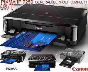 Canon PIXMA iP7250 Tintenstrahldrucker #Fotodrucker #Rohlingdrucker#Duplex#Beleg
