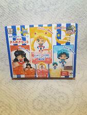 SAILOR MOON Ochatomo Set 3 figures Kirameku Pearl Color LIMITED NEW sailormoon