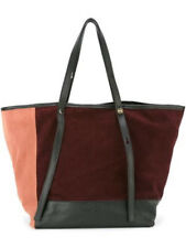 See By Chloé Andy Tote Leather Suede Bag Colorblock NWT and Authentic