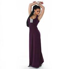 Festliche Markenlose bodenlange Damenkleider aus Polyester