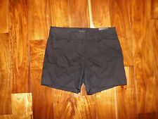 NWT Womens THE LIMITED Black Tailored Flat Front Dress Shorts Size 4