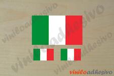 PEGATINA STICKER VINILO Bandera Italia Italy flag autocollant aufkleber adesivi