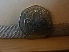 50p Coin { BOY SCOUTS} 2007.