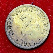 #5897 - 2 francs 1944 Philadelphie TTB+ - FACTURE