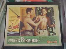 NAKED PARADISE, orig 1957 LC #1 (Richard Miller) Roger Corman film