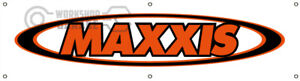 MAXXIS TYRES BANNER FOR WORKSHOP - CAR CLUB - MAN CAVE