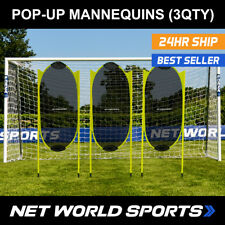 Pop-Up Football Free-Kick Mannequins - Spring Back Dummies For Football Training