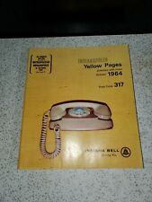 1964 INDIANAPOLIS YELLOW PAGES Directory with Index