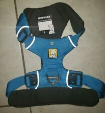 Ruffwear Front Range Dog Harness Small S Blue Dusk  New No Tags 22-27 in ID Tag