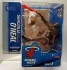 McFarlane NBA Series 8 SHAQUILLE O\'NEAL MIAMI Heat Black Jersey  VARIANT