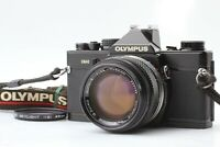 【EXC+++++】 Olympus OM-2 Black SLR Film Camera w/ G.Zuiko 50mm f/1.4 From JAPAN