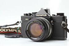 【EXC+++++】 Olympus OM-2 Black SLR Film Camera w/ G.Zuiko 50mm f/1.4 From JAPAN