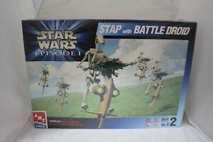 Amt Starwars Episode 1 Stap /Battle Droid  1:6 Plastic Kit NOS Item #30124 MSIB