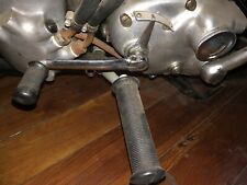ANTIQUE MOTORCYCLE INDIAN CHIEF SCOUT FOUR 4  FLOORBOARD LOWER MOUNTS 1935 to 53