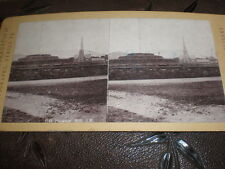 Stereoview photograph Tynwald Hill Isle of Man by Permanent Stereoscopic 1880s 2