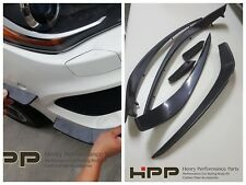For CLA W117 AMG Front Canard Splitter Winglets Spoiler Painting as original