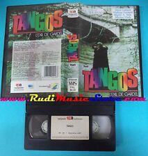 VHS film TANGOS 1985 Laforet Leotard Musica Astor Piazzola SPA  (F34) no dvd