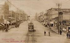 Photo. ca 1911. New Westminster, BC Canada. Columbia Street