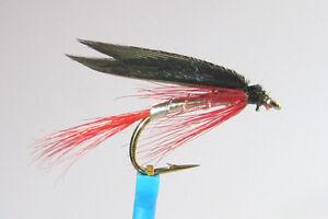 1 x Mouche Noyée BLOODY BUTCHER H10/12/14 mosca fliegen fly truite trout wet