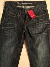 Guess Jeans Belmont Flare Stretch Women's Dark Wash Size 24 x 33 New!