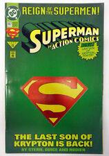 superman in action comics 687