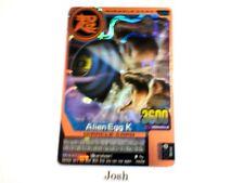 Animal Kaiser Original English Version Ver 6 Bronze Card (M073: Alien Egg K)