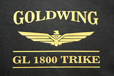 GOLDWING 1800 TRIKE BAR LOGO TEE SHIRT SHORT OR LONG SLEEVE MANY COLORS AVAIL