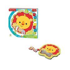 Fischer Price Baby Fun Puzzle Lion Löwe Kinder Formen Puzzle 8 Teile NEU NEW