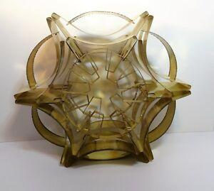 Sven Aage Holm Sorensen lamp suspension brutalist Vintage design lamp 60'S