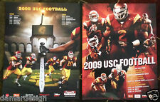 ☆ LOT of over 100 USC 2008 and 2009 Football Schedule Posters - Great to Resell