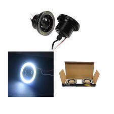 2pcs 2.5inch 30W Fog Lamp LED COB Angel Eyes Light Daytime Running Lights 8407HC