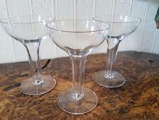 Vintage Hollow Stemmed Champagne/cocktail Glasses