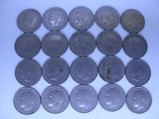 Greece Grece   20 coins   Used  1  drachma 1967   ,King  Konstantinos, lot  2122