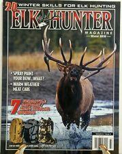 Elk Hunter Magazine Winter 2016 24 Winter Skills For Hunting FREE SHIPPING sb